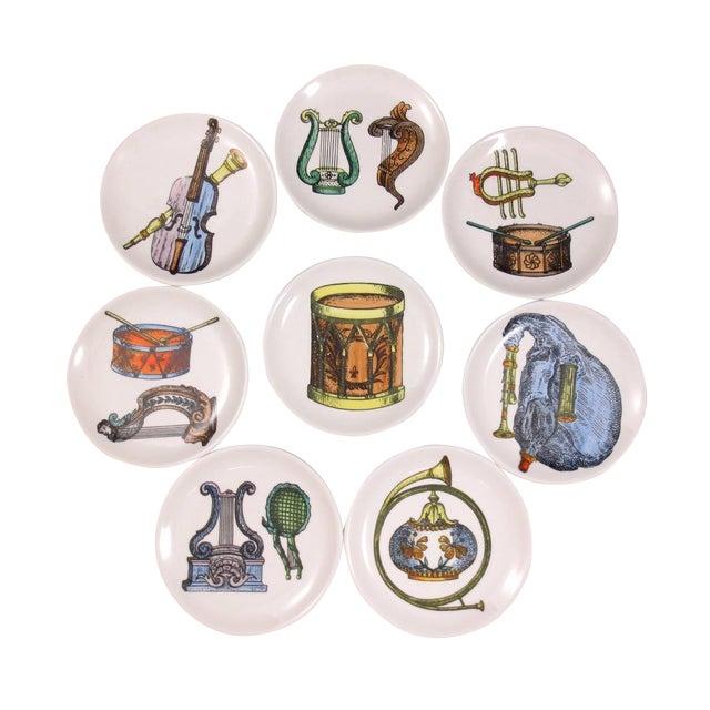 Mid-Century Bucciarelli Musical Coasters - Set of 8 For Sale