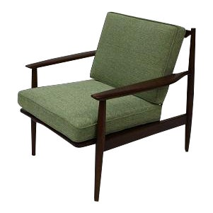 1960s Vintage Baumritter Lounge Chair For Sale