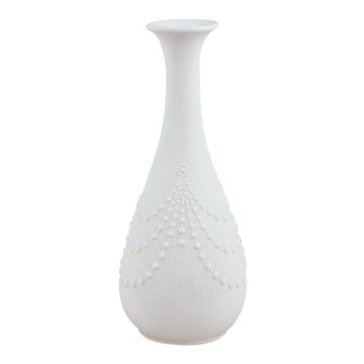 Vintage Kaiser of Bavaria White Porcelain Bud Vase For Sale