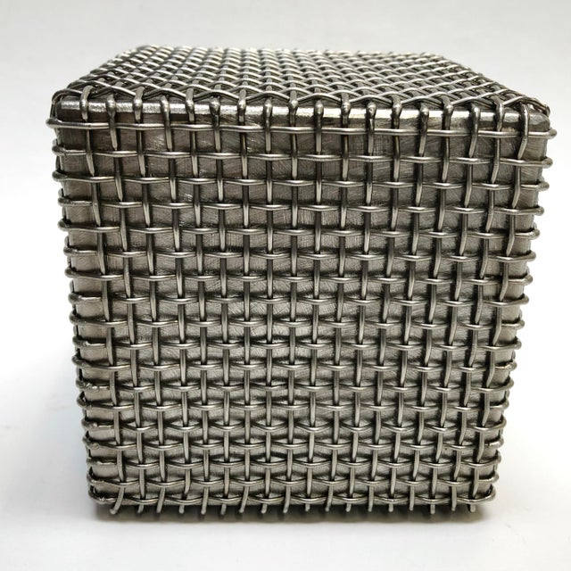 Modern Modern Metal Cube Sculpture by Larry Lubow For Sale - Image 3 of 5