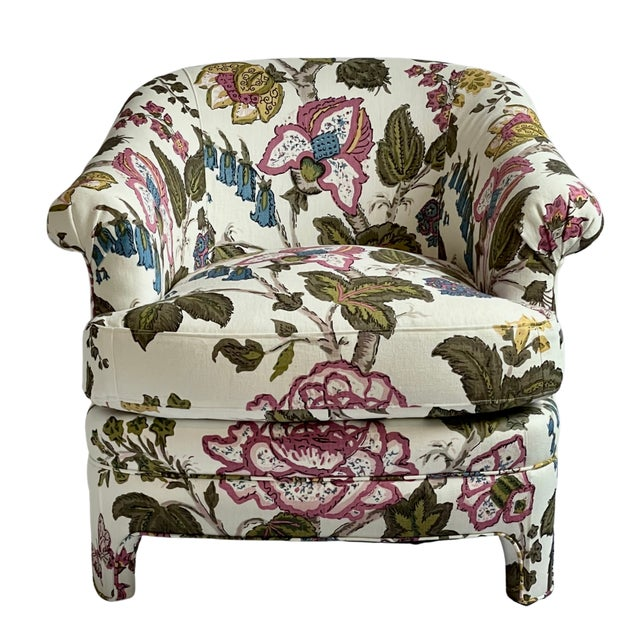 """English Sasha Accent Chair in Peter Fasano's """"Chatsworth"""" For Sale - Image 3 of 3"""