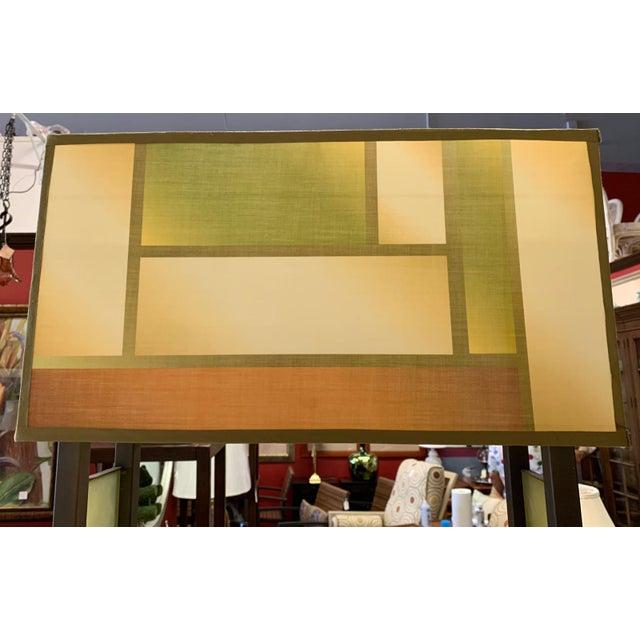 Metal Van Teal Bacchus Wine Rack Floor Lamp For Sale - Image 7 of 9