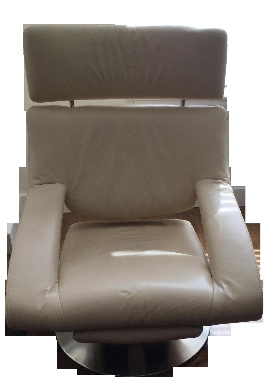 De Sede DS255 Cream Leather Armchair