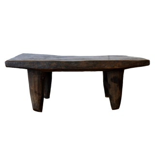 1990s Vintage 33-Inch African Senufo Bench For Sale
