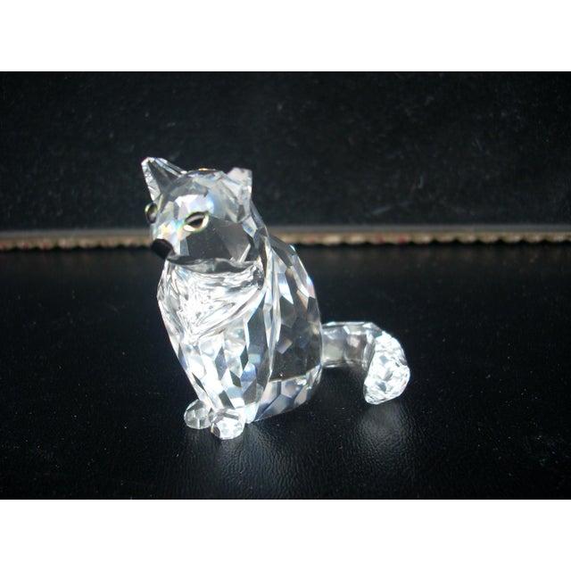 Swarovski Crystal Cat Figure - Image 2 of 4