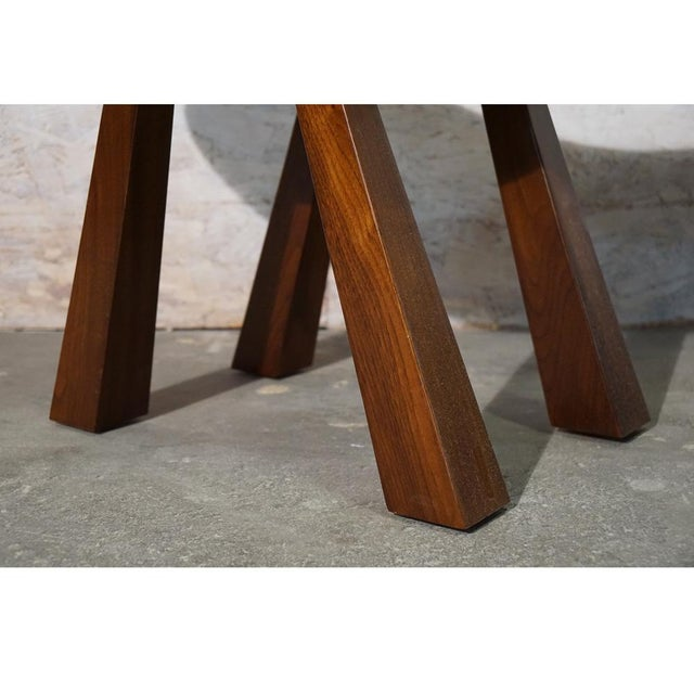 Walnut Butterfly Stool For Sale - Image 7 of 8