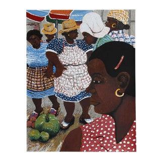 David Azuz, La Guadeloupe, Lithograph For Sale