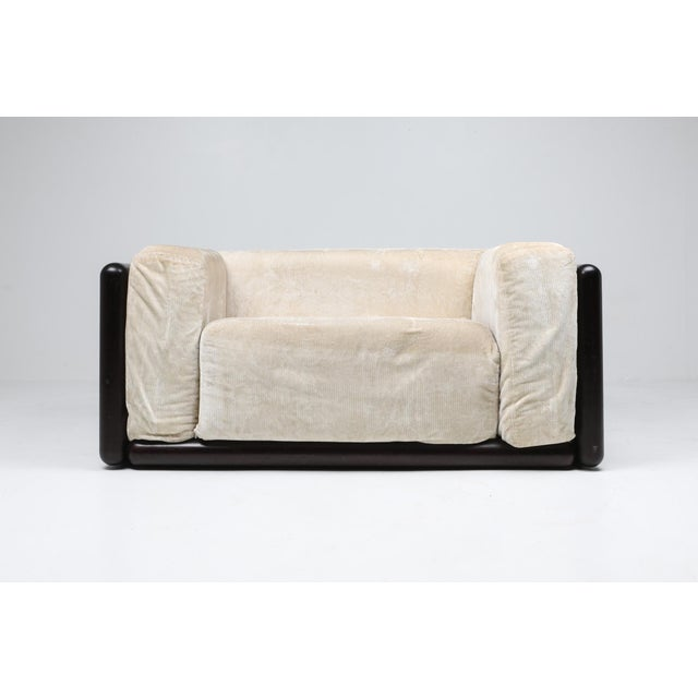 1970s Carlo Scarpa 'Cornaro' Lounge Chair for Simon, 1973 For Sale - Image 5 of 12
