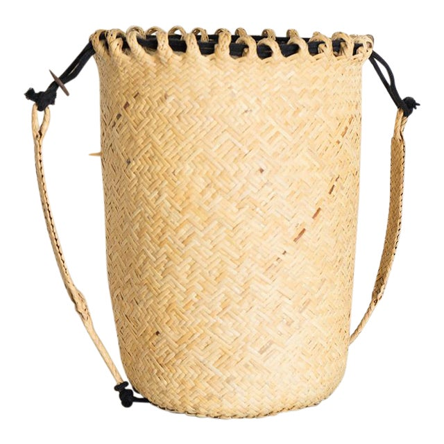 Rattan Woven Basket For Sale