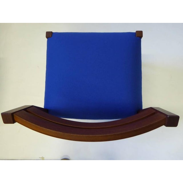 Eight 1974 Jørgen Henrik Moller Modern Teak Dining Chairs For Sale In Miami - Image 6 of 11