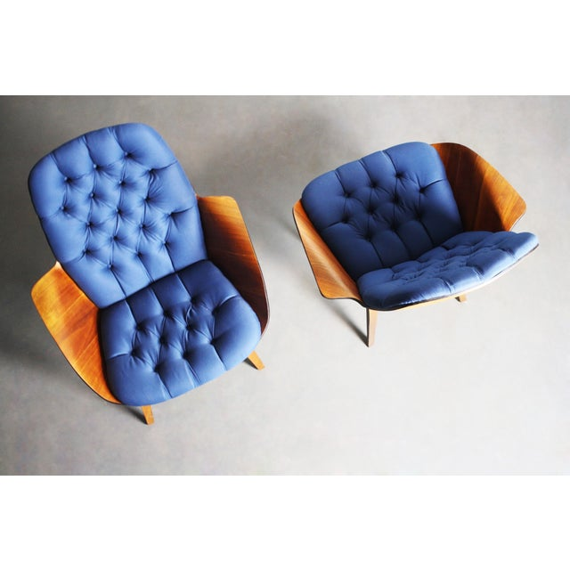 George Mulhauser for Plycraft Lounge Chairs - Pair - Image 6 of 11