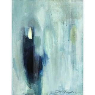 """""""Blue Haze Series, No.4"""" - Original Painting by Donna Hughes"""
