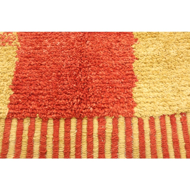 Moroccan Contemporary Rug - 09'11 X 13'11 For Sale - Image 4 of 10
