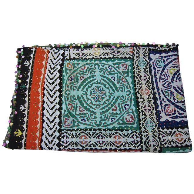 Indian Quilted Blanket For Sale
