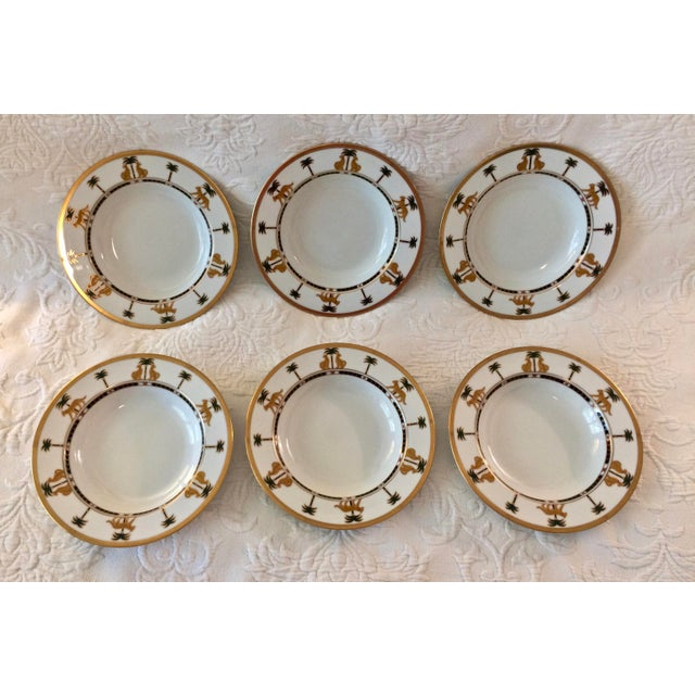 "Christian Dior Hollywood Glamour ""Casablanca"" Fine China Bowls - Set of 6 - Image 9 of 10"