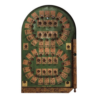Lindstrom Bagatelle Poker Game Board