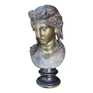 Bronze Bust of Capitoline Dionysius For Sale