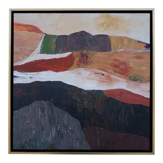 "Laurie MacMillan ""Warming Trend"" Abstract Landscape For Sale"