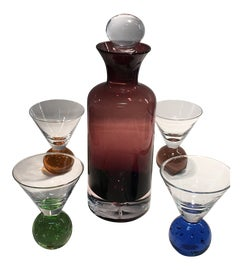 Image of Art Deco Carafes and Decanters