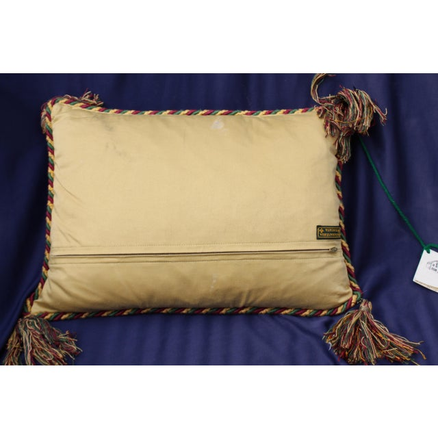 Traditional Late 20 C. Toscana Pillow For Sale - Image 3 of 6