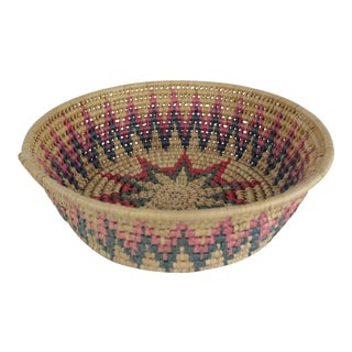 20th Century Tribal Basket For Sale