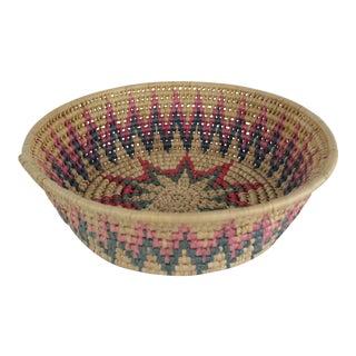 Ghanian Tribal Basket For Sale