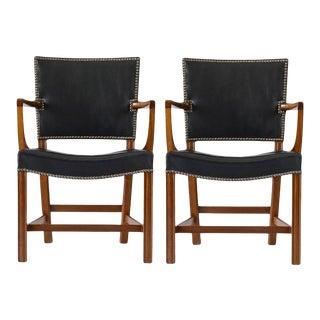 Pair of Kaare Klint Armchairs For Sale