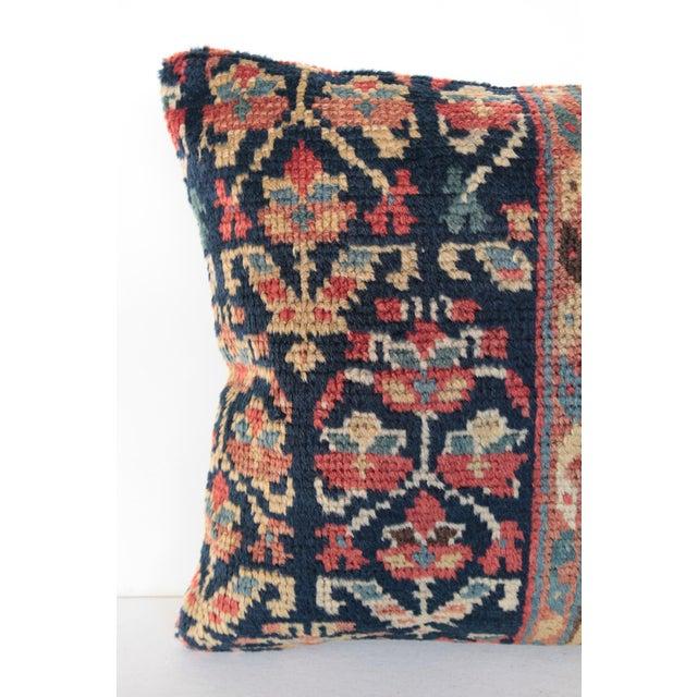 Art Deco Antique Caucasian Rug Pillow For Sale - Image 3 of 9