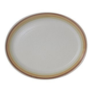 Vintage Franciscan Dinnerware Sierra Sand Large Oval Platter For Sale