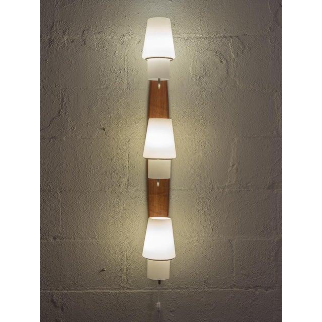 Danish Modern Vertical Sconce Light For Sale - Image 9 of 10
