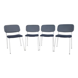 Modern Gray Hay Chairs - Set of 4 For Sale