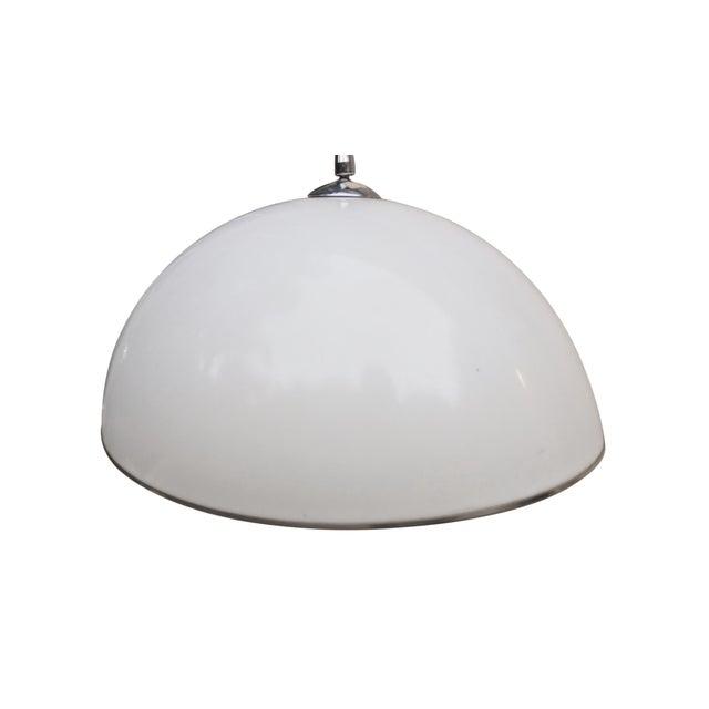 Mid Century Modern Chrome Floor Lamp For Sale - Image 5 of 6