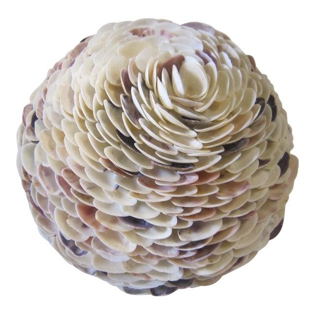 1970s Shell Art Orb For Sale