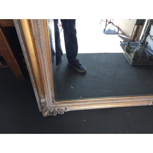 Large Gold Mirror For Sale - Image 9 of 13