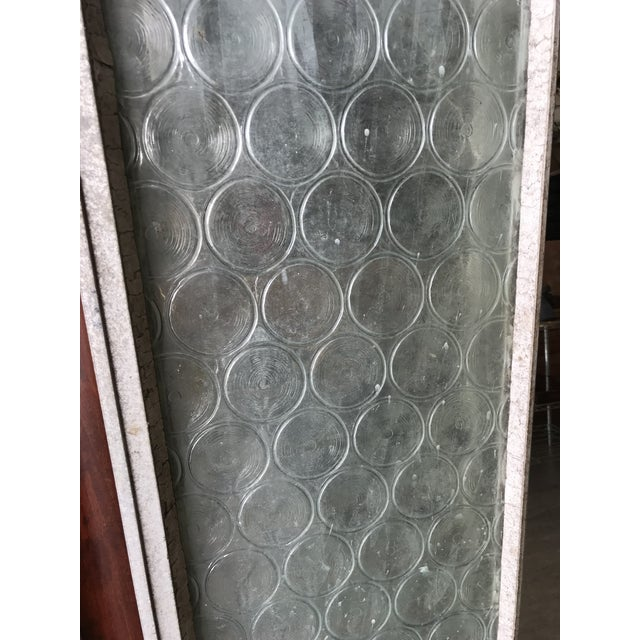 Vintage Bottle Glass Windows-A Pair For Sale - Image 11 of 13