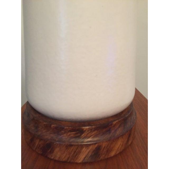 Mid-Century Vontury Porcelain Lamp - Image 7 of 7