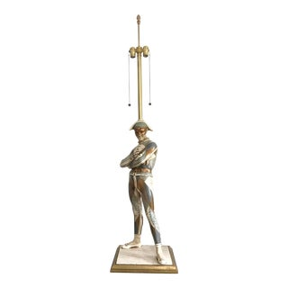 Monumental Marlboro Harlequin Lamp After St. Marceaux For Sale