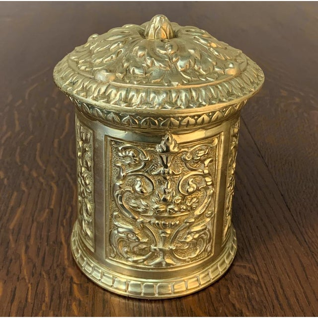 Traditional 19th Century Bronze French Humidor For Sale - Image 3 of 13
