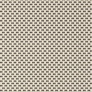 Sample - Schumacher X David Oliver Domino Wallpaper in Piano Forte For Sale