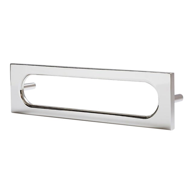 Nest Studio Collection Mod-06S Polished Nickel Handle For Sale