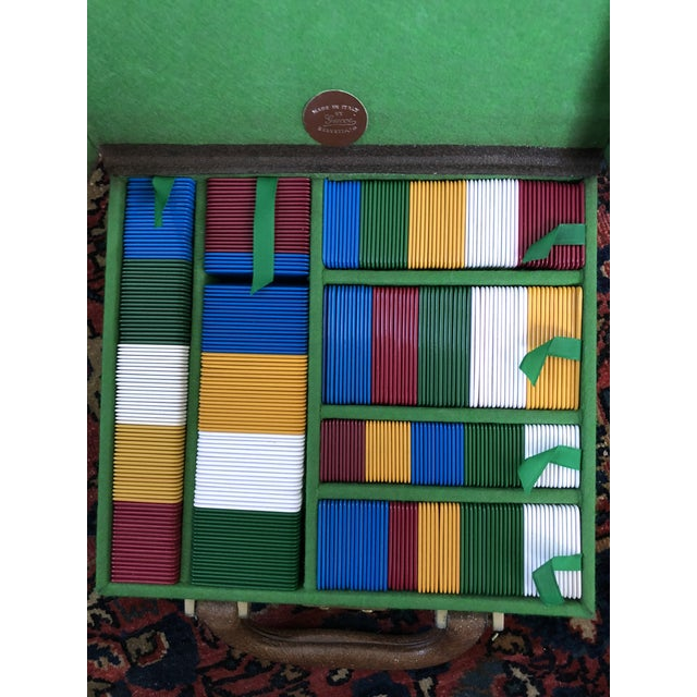 Italian Vintage Gucci Travel Gaming Set For Sale - Image 3 of 6