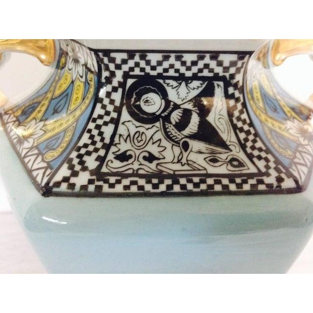 Antique Art Deco Noritake Morimura Vase Signed Chairish