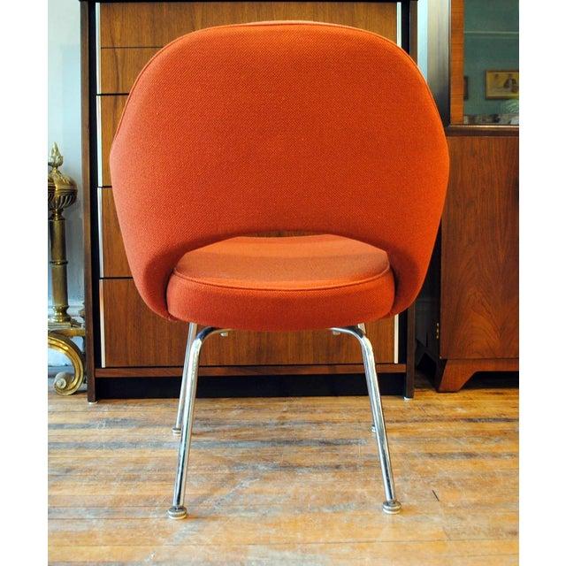 Mid Century Executive Armchair by Eero Saarinen for Knoll-1960's - Image 6 of 12
