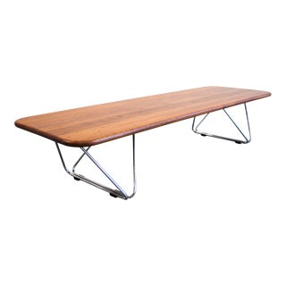 Danish Modern 60's California Solid Redwood Ray Wilkes for Herman Miller Coffee Table For Sale