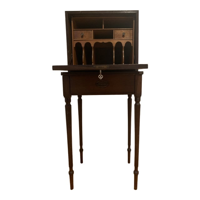 18th Century Victorian Generals Field Writing Desk For Sale