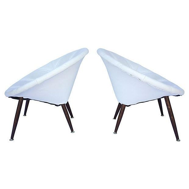 Douglas Eaton MCM Saucer Chairs - A Pair - Image 2 of 5