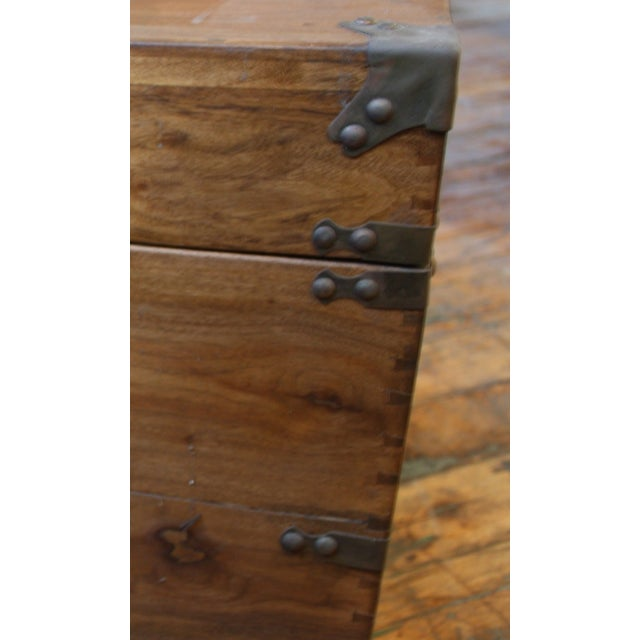 Antique Chinese Trunk Coffee Table - Image 5 of 6