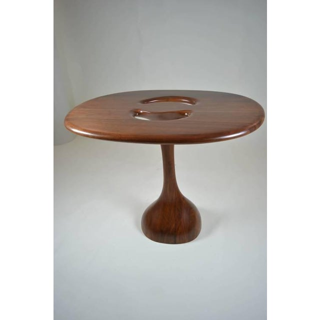 Signed Kovach Carved Wood Table - Image 5 of 10