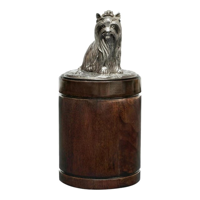Scarborough House Dog Handle American Canister For Sale