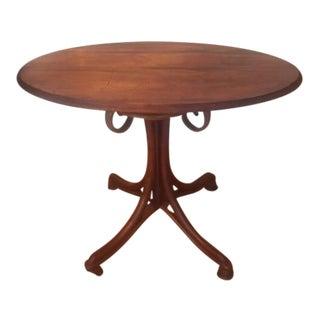 20th Century Art Nouveau Cafe Table